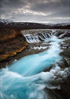 Landscape, Bruarfoss, Suðurland, Iceland,