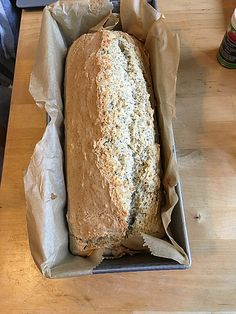 Glutenfreies Ruck-Zuck Joghurtbrot Gluten-free jerk-sugar yoghurt bread (recipe with picture) Gluten Free List, Gluten Free Soup, Gluten Free Snacks, Gluten Free Breakfasts, Gluten Free Baking, Yogurt Recipes, Bread Recipes, Cookie Recipes, Bagels Sans Gluten