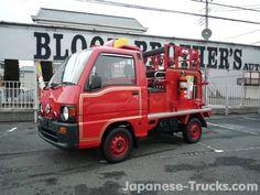 Subaru Sanbar, firetruck