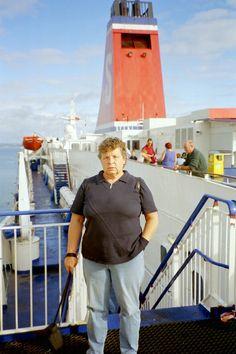 Embarking in Rosslare Harbour (Ferry Stena Line)
