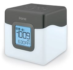 iHome iBT28GC Bluetooth Color Changing Dual Alarm Clock FM Radio with USB Charging >>> Click image for more details. (This is an affiliate link) #Clocks