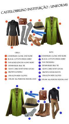 #Castelobruxo uniform #MagicalSchools #HarryPotter
