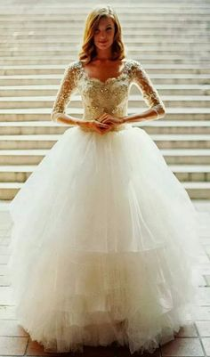 Lovely sweetheart neckline ball gown with rhinestone embellishments
