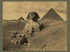 The Sphynx - Egypt 1880