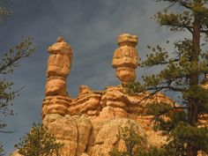 Twins in Bryce canyon - US