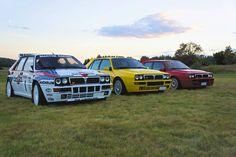 Martini, shaken not stirred: Lancia Delta Integrale