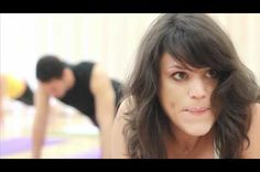 What goes on in the minds of people in a Yoga class video