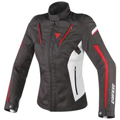 With the length and look of a sporty jacket, but boasting focused features derived from touring, the Dainese Stream Line D-Dry is great for those who enjoy spirited mid-distance outings. Dainese's proprietary D-Dry membrane keeps the rider dry, but construction of cutting-edge D-Synth 250 fabric enables an extremely light weight jacket.