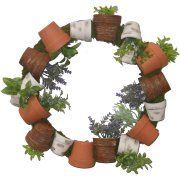 Potted Herb Wreath Image 1 of 1