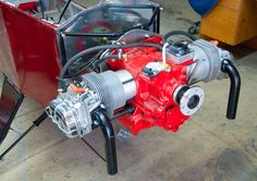 4 Stroke Opposed Engine on Ultralight - Confirmed Sighting Ultralight Aircraft Kits, Ultralight Helicopter, Aircraft Parts, Aircraft Engine, Kit Planes, Aviation Engineering, Small Airplanes, Vw Engine, Boxer