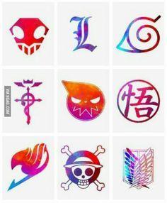Bleach - Death Note - Naruto - Fullmetal Alchemist - Soul Eater - - Fairy Tail - One Piece - SnK