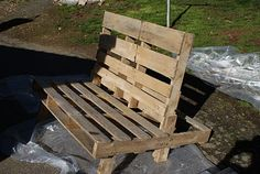 Pallet chair directions for the hubby...now he can get started!