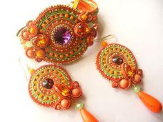 яркий красочный летний комплект Crochet Earrings, Jewelry, Fashion, Moda, Jewlery, Jewerly, Fashion Styles, Schmuck, Jewels