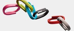 Bracelets connectés Jawbone en couleurs !