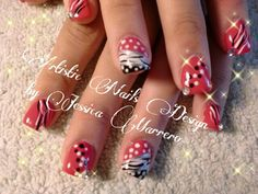 Artistic Nails Design by Jessica Marrero on facebook
