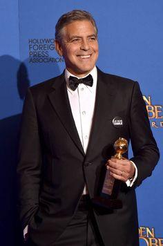 Awards companion george clooney gay