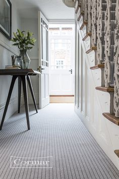 Cautious characters hesitant about using colour to reflect their individuality should consider textured carpet in their home décor. Keep the room classic with light stripes or textures and team with soft neutral walls for a timeless feel.  Bouclé Neutrals shown in colour: Sloane Steel