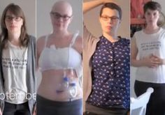 A breast cancer survivor has chronicled her fight against the disease in a beautiful time-lapse video. Emily Helck, who was diagnosed last year at age 28, realized that the 12 months she was about to endure would be one she would never — and probably should never — forget.