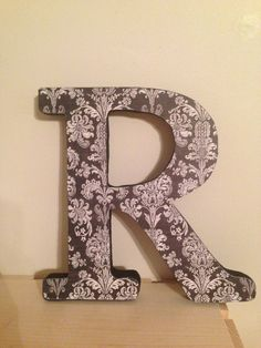 "8"" Wooden Initial"