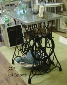 shabby chic furniture at 540 Mercantile