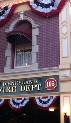 This simple firehouse holds the biggest secret in all of Disneyland...