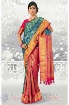 Bocade Wedding Silk Saree PMD7 http://www.shopcost.in/bridal+silk+saree