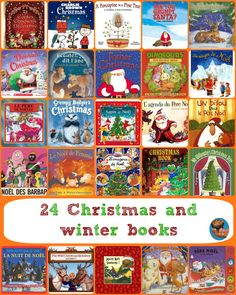 24 Christmas and winter books
