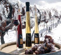 Ice Wine to Kanadyjskie wino z mrozonych winogron