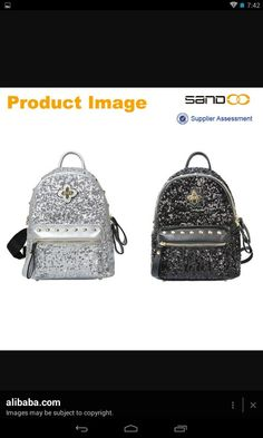 Cool sparkley cute Backpack Purse, Fashion Backpack, Backpacks, Purses, Cool Stuff, Cute, Bags, Handbags, Cool Things
