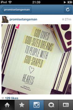 God-shaped hearts