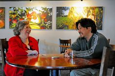 Hanging in Louisville with Chef Edward Lee of 610 Magnolia, Jessica from Urban Sacred Garden and more giggles.