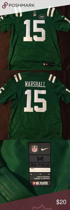 New York Jets Brandon Marshall Color Rush Jersey New York Jets Brandon Marshall Color Rush Limited Jersey. Size Medium. Worn once to a game. Beautiful jersey being sold by a disgruntled fan. Nike Shirts Tees - Short Sleeve