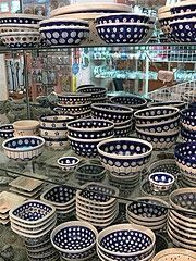 I wish for more Boleslawiec Pottery.