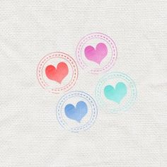 heart travel stamp - FREE DOWNLOAD