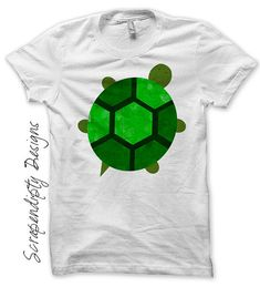 Turtle Iron on Shirt PDF - Animal Iron on Transfer / Kids Boys Clothing Shirt / Baby Turtle Shirt / Hippie Kids Clothes / Boy Birthday IT91