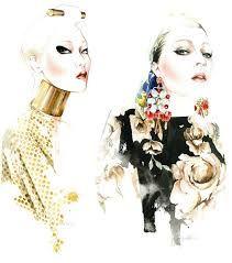 Resultado de imagem para illustration fashion