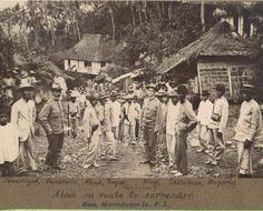 forces in the Philippine War 1899 - 1901 The Spanish American War, American History, Filipino Culture, Philippines Culture, Filipiniana, Pinoy, Vintage Pictures, Old Photos, Sailors