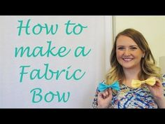 How to Make the Perfect Fabric Bow - No Sewing Required!