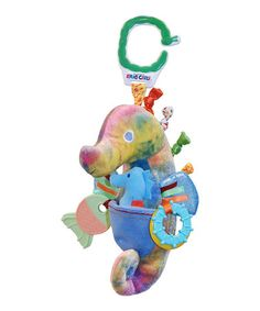 Take a look at this Blue & Yellow  Plush Developmental Mr. SeahorseToy by The World of Eric Carle on #zulily today!