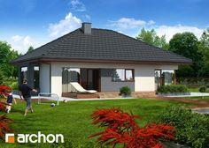 Dom pod jarzębem, Fot. Archon, #domowy.pl #projektdomu #dom #przytulny www.domowy.pl Tiny House, Beautiful Homes, Gazebo, Sweet Home, Indoor, Outdoor Structures, Nice, Create, Home Decor