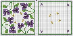 Cross-stitch Biscornu... no color chart available, just use the pattern chart as your color guide.. or choose your own colors...