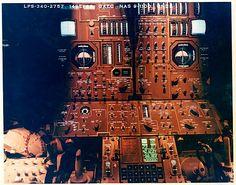 Apollo 11, Lunar Module Control Panel, 1968