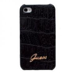 Funda iPhone 5 Guess Croco - Negra  ¿Por qué la necesitas? - Protección 360, protege las esquinas y los laterales de tu teléfono - Diseño único y exclusivo - Prestigio de la marca Guess. - El negro, pega genial con tu iPhone