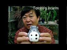 トトロ・オカリナの作り方。How to make the Totoro Ocarina:)