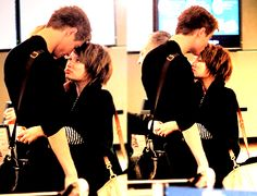 Emily Browning and Max Irons. Love that they were in The Host together!!