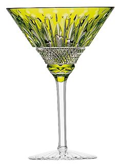** Saint-Louis-Tommy-cocktail-glass-chartreuse,c26347