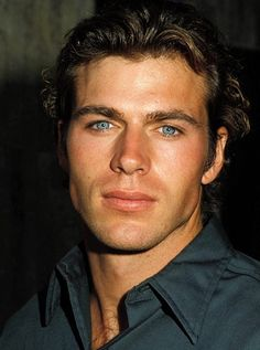 Jon-Erik Hexum Long dead whit a colt Acident or not Beautiful Men Faces, Gorgeous Eyes, Handsome Faces, Handsome Actors, Attractive Eyes, Bedroom Eyes, Actrices Hollywood, Interesting Faces, Male Face