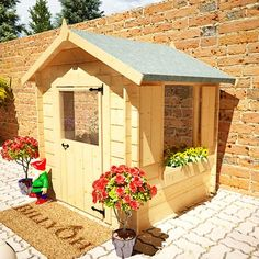 Mad Dash Child's Log Cabin Playhouse