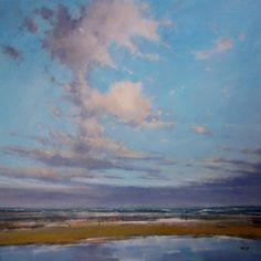 © Artist: Cees  Vegh, waddenzee 60cm x 60cm see at SilleKunst.nl
