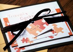 Puzzle Piece Wedding Invitation by NINE7OHDESIGNS on Etsy, $150.00